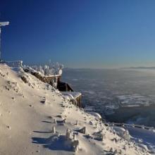 Zimní ráno, autor: Hana Palečková
