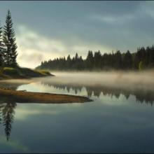 Jezero Ticha, autor: Jan Podešva